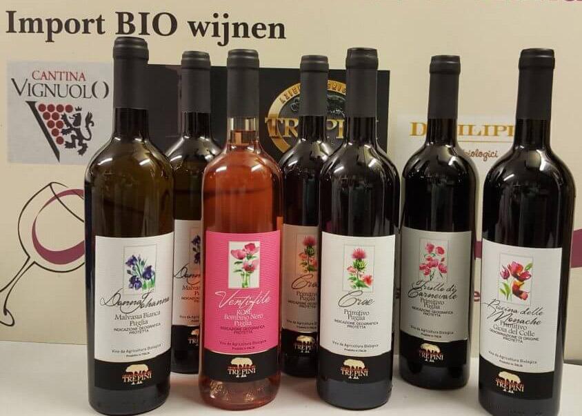 Italiaanse bio wijn